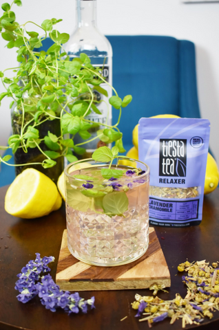 lavendar mint cockatil recipe
