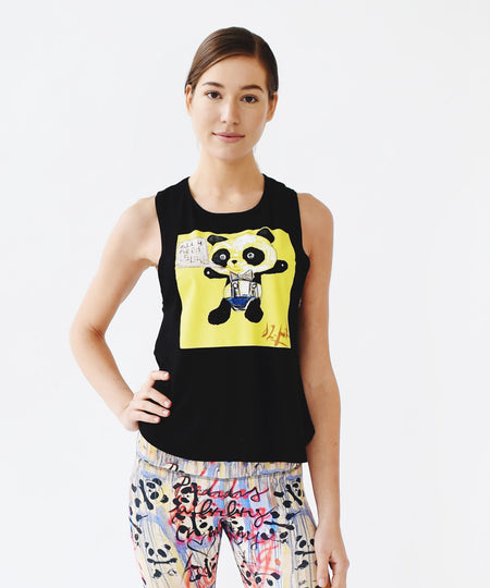 Graffiti Panda High Waist Legging