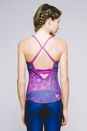 Joriki Yoga Printed Strappy Racerback Tank - Available in 5 Colors Women's Tops