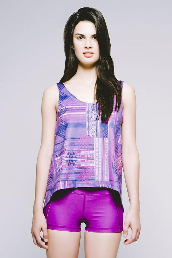 Joriki Yoga Hi-Lo Double-Layer Tank - 6 Colors Available Women's Tanks
