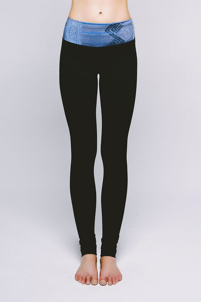 Essential Legging - Cool Kushutara Jet Black