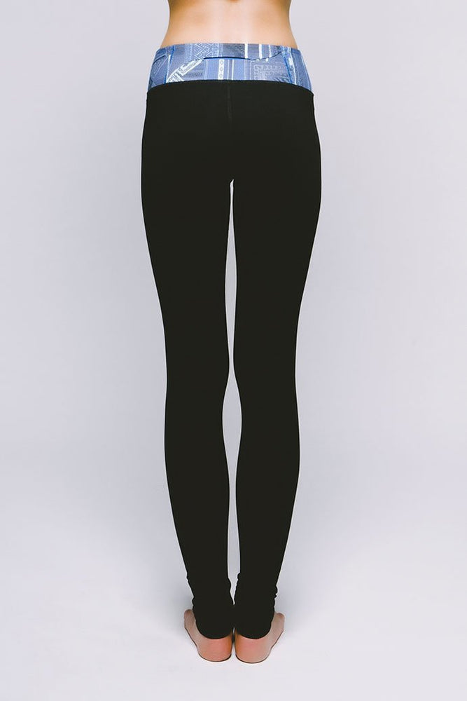 Joriki Yoga Essential Legging - Cool Kushutara Jet Black Leggings