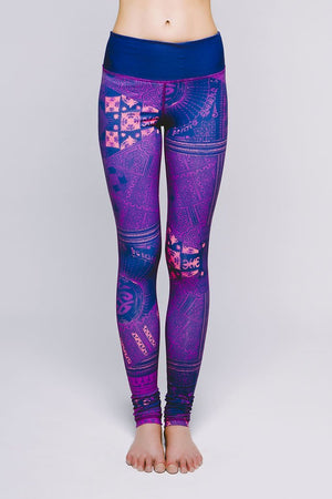 Joriki Yoga Essential Legging - Vibrant Cirebon Leggings