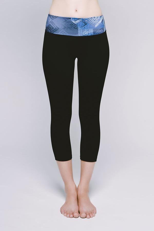 Essential Cropped Legging - Print/Solid - 4 Options Available