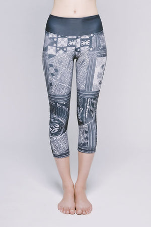 Joriki Yoga Essential Cropped Legging - Sedate Cirebon Leggings