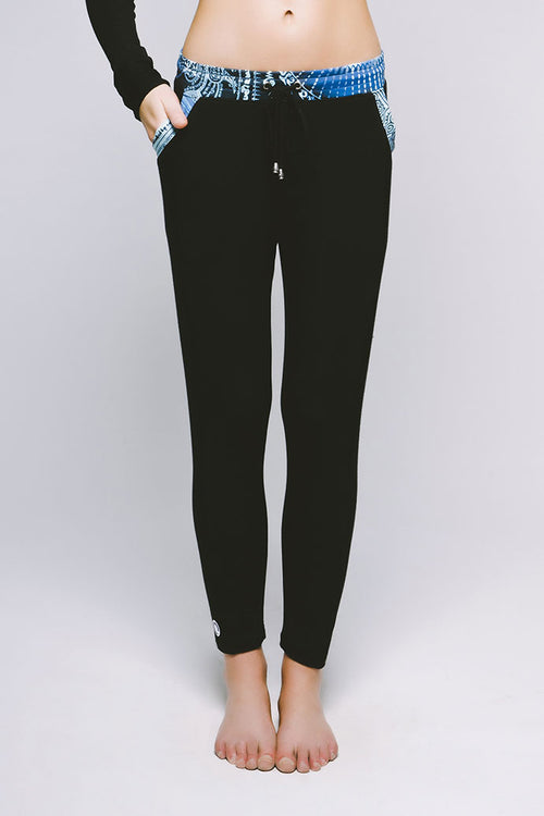 Everyday Slouch Pant - Cool Cirebon/Jet Black