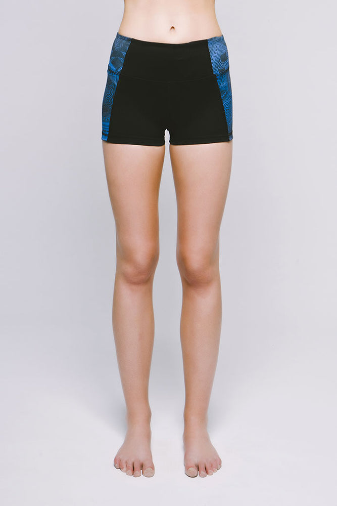 Perfect Fit Mini Short - Cool Cirebon/Jet Black