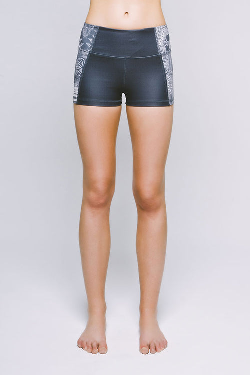 Perfect Fit Mini Short - Sedate Cirebon/Charcoal