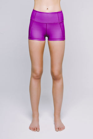 Joriki Yoga Perfect Fit Mini Short - Vibrant Electric Orchid Women's Shorts