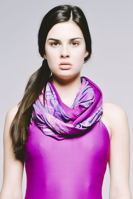 Everyday Circle Scarf - Cool Bukhara