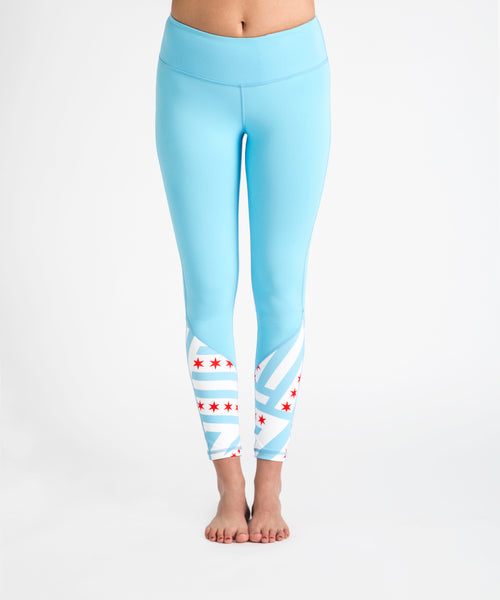 Chicago Flag Legging