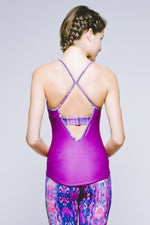 Joriki Yoga Strappy Racerback Tank - Vibrant Electric Orchid Tops