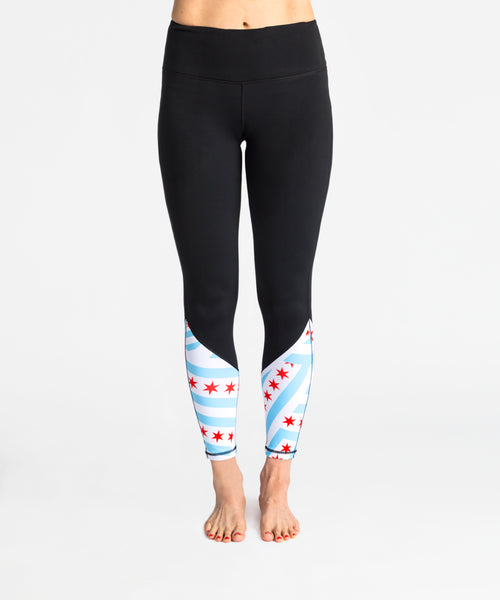 Chicago Legging in Black