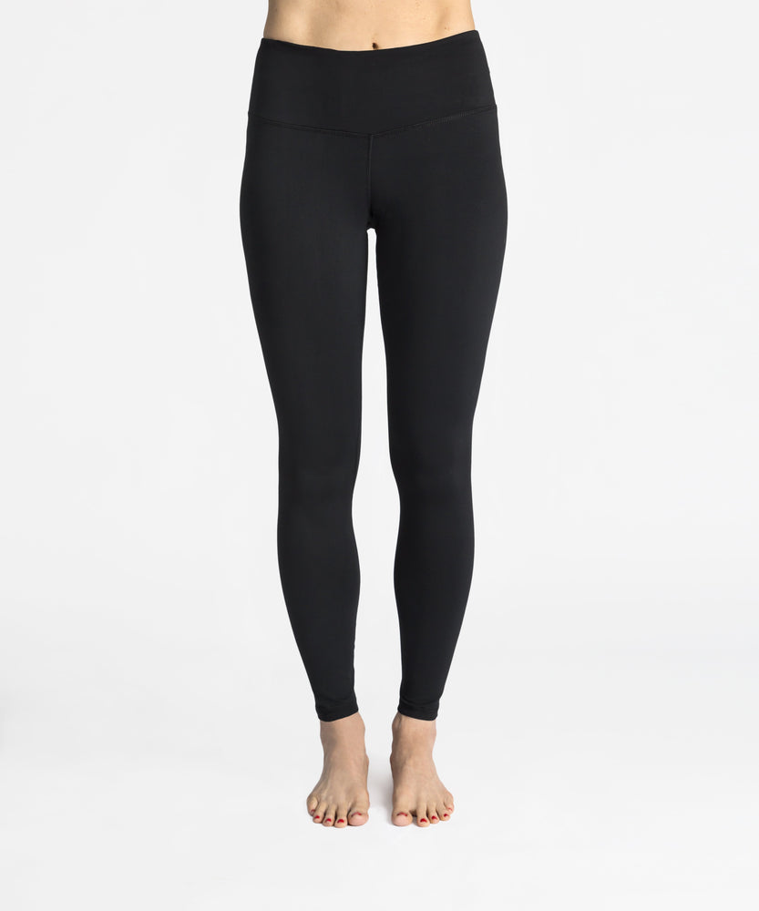 "High-Waist Essential 26"" Legging - Jet Black"