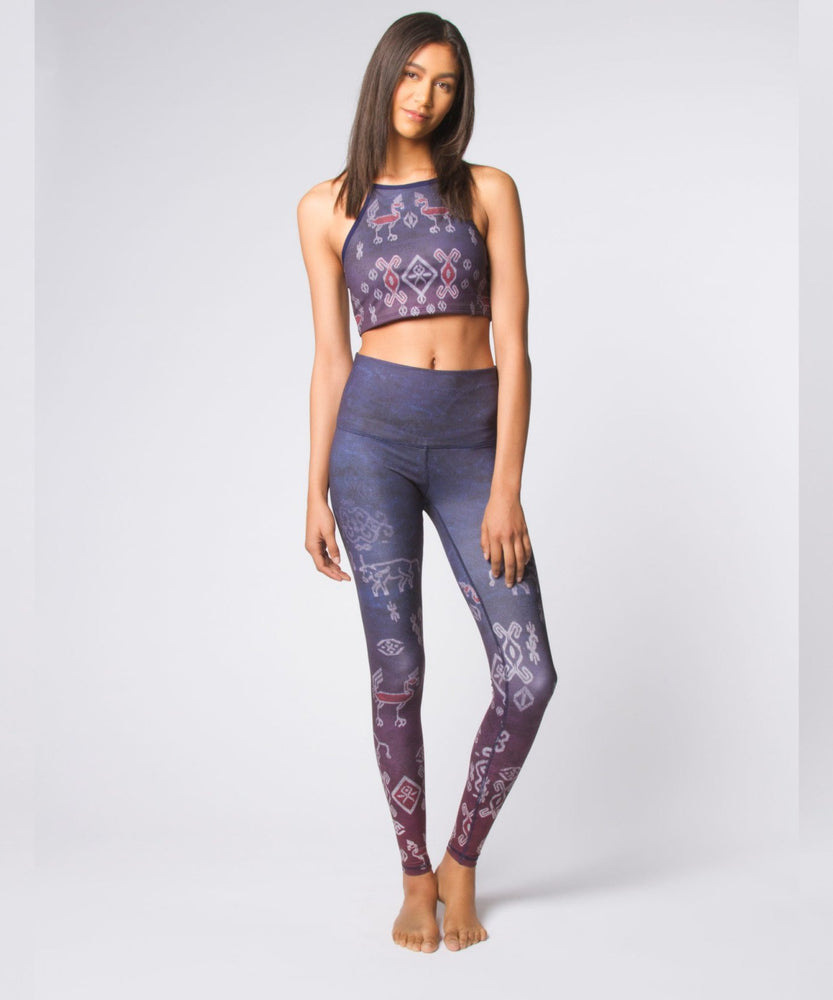 Joriki Yoga Ikat Ombre High Waist Legging Leggings