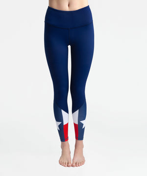 Joriki Yoga Texas Flag Lone Star Legging Leggings