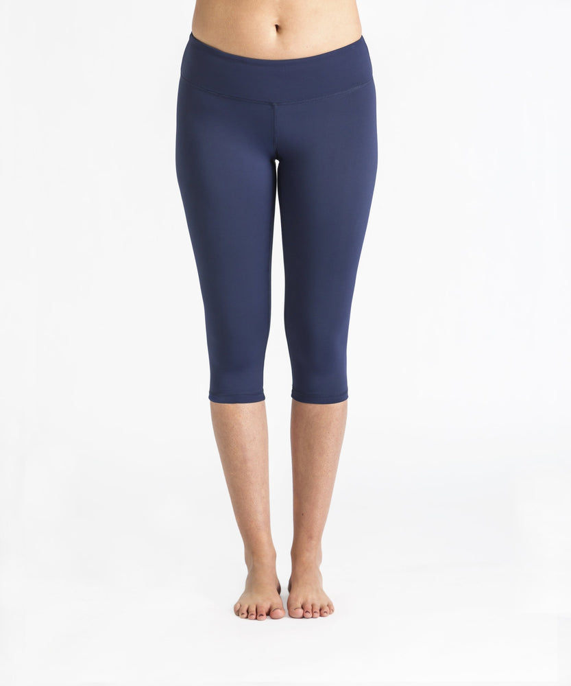 Joriki Yoga Navy Capri Leggings