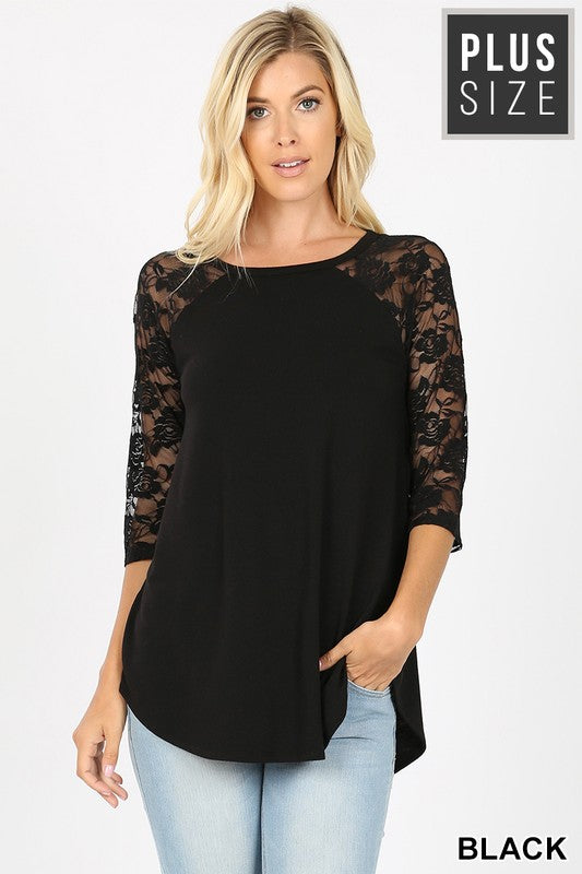 Easy Like Sunday with Lace Top