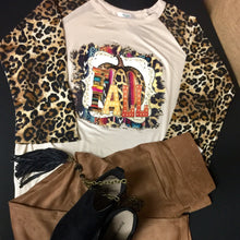 "Leopard is in the Air ""Fall"" Top"