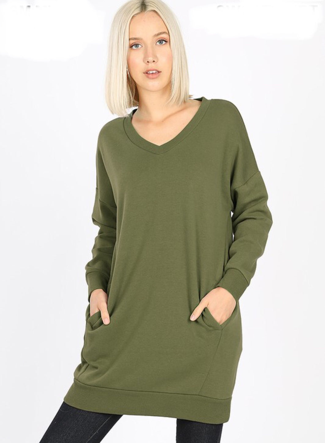 Warm and Cozy V-neck Shirt