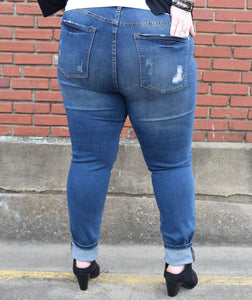 Did you get the skinny? Shredded Judy Blue Jeans