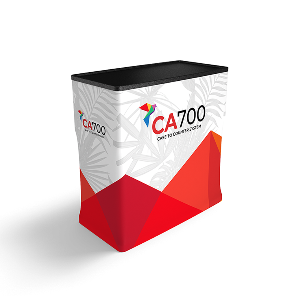 CA700 Case To Counter for Trade Shows and Events