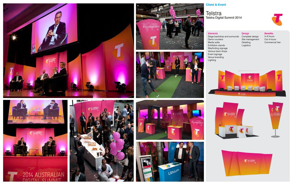 BrandStand® custom exhibit displays