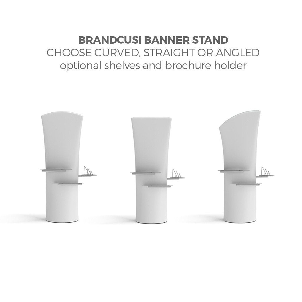 BrandStand WLMAK2 WavelineMedia Tension Fabric Display Kit with brandcusi banner stand