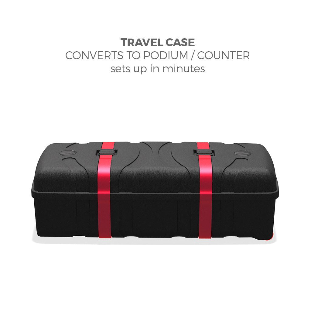 BrandStand CA500 Counter and transport case