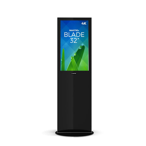 "Makitso Blade 32"" Pro Digital Signage Kiosk black"