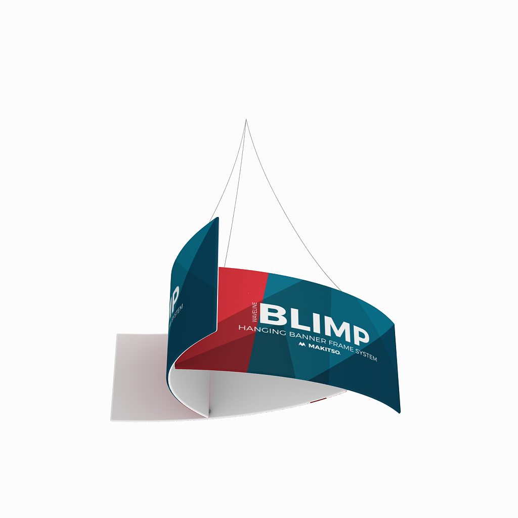 WaveLine Blimp Eclipse Hanging Banner System