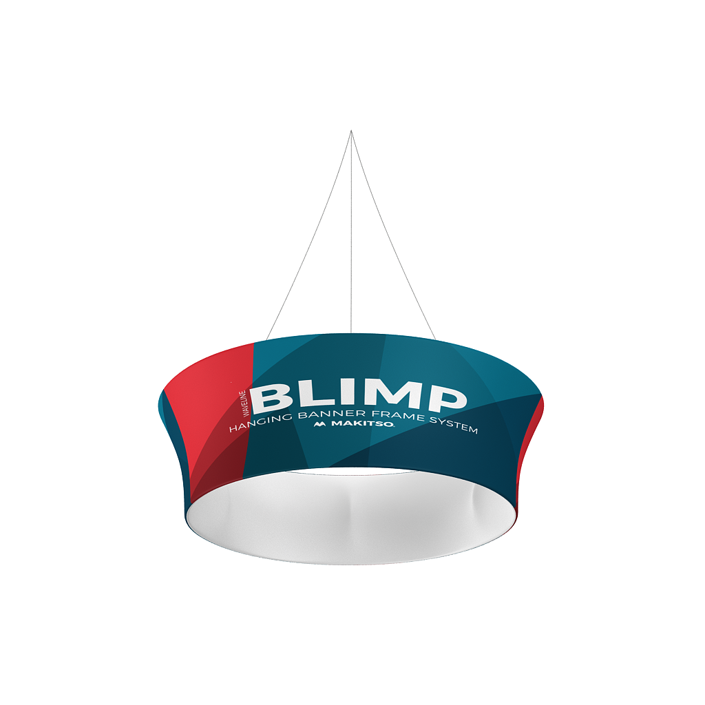 WaveLine Blimp Tapered Tube Hanging Banner System