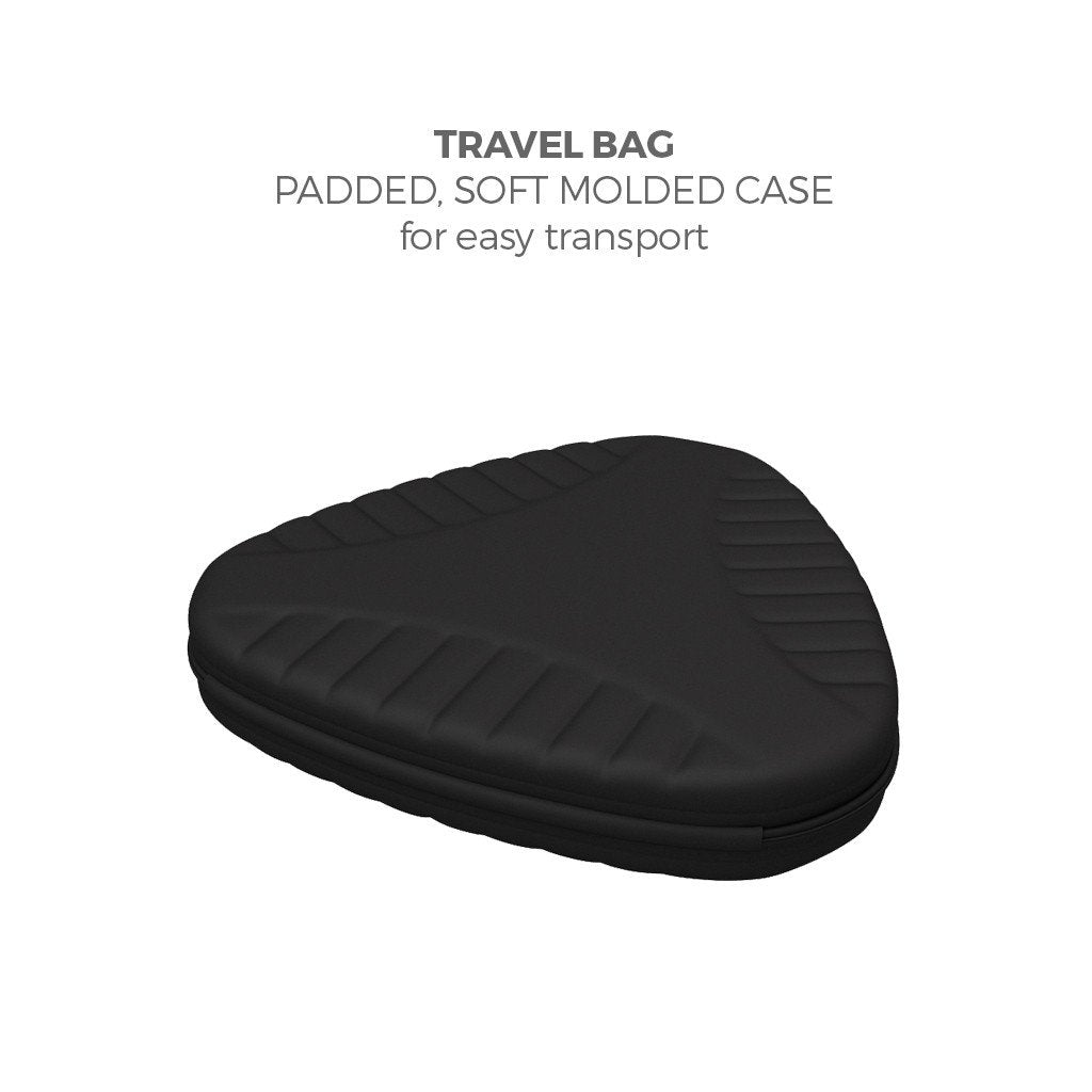 Brandcusi Triangular Tower transport case for counter