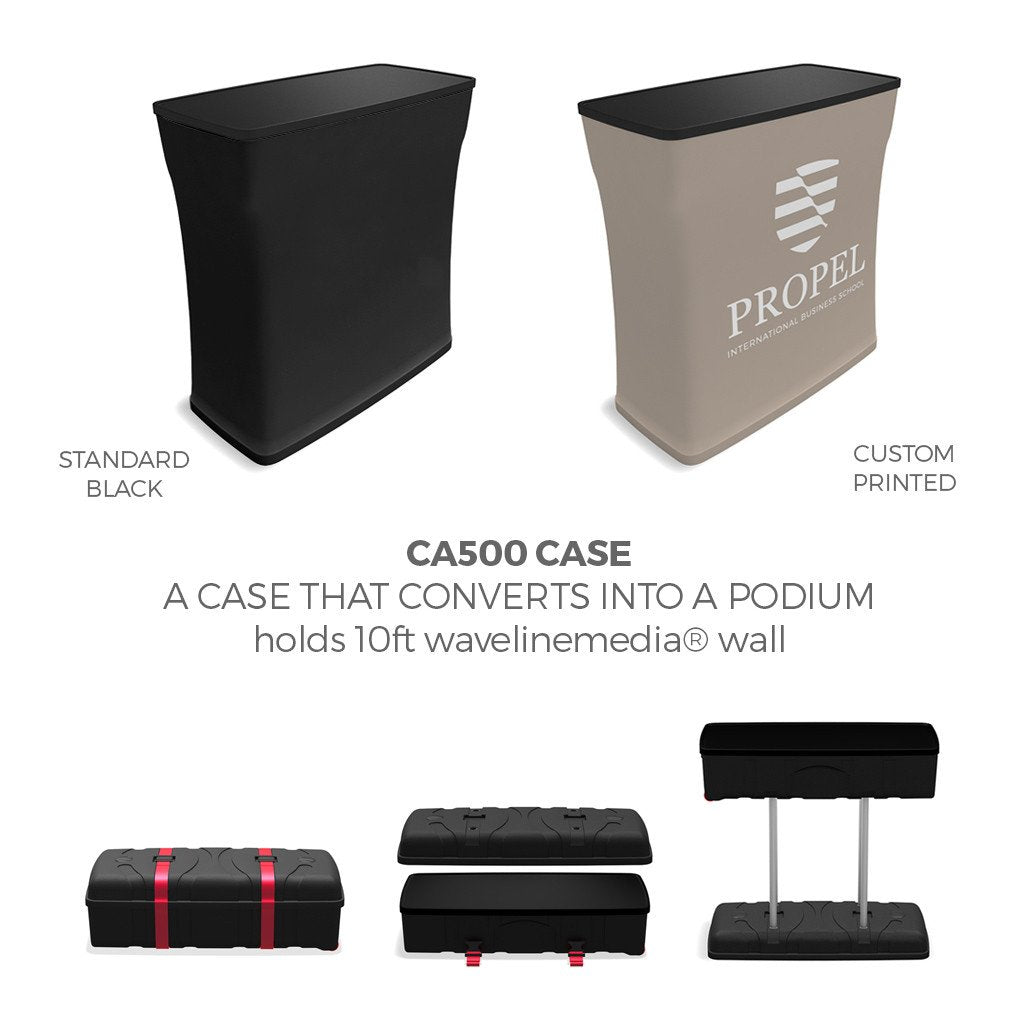 WavelineMedia Kit WLMDN with ca500 podium case