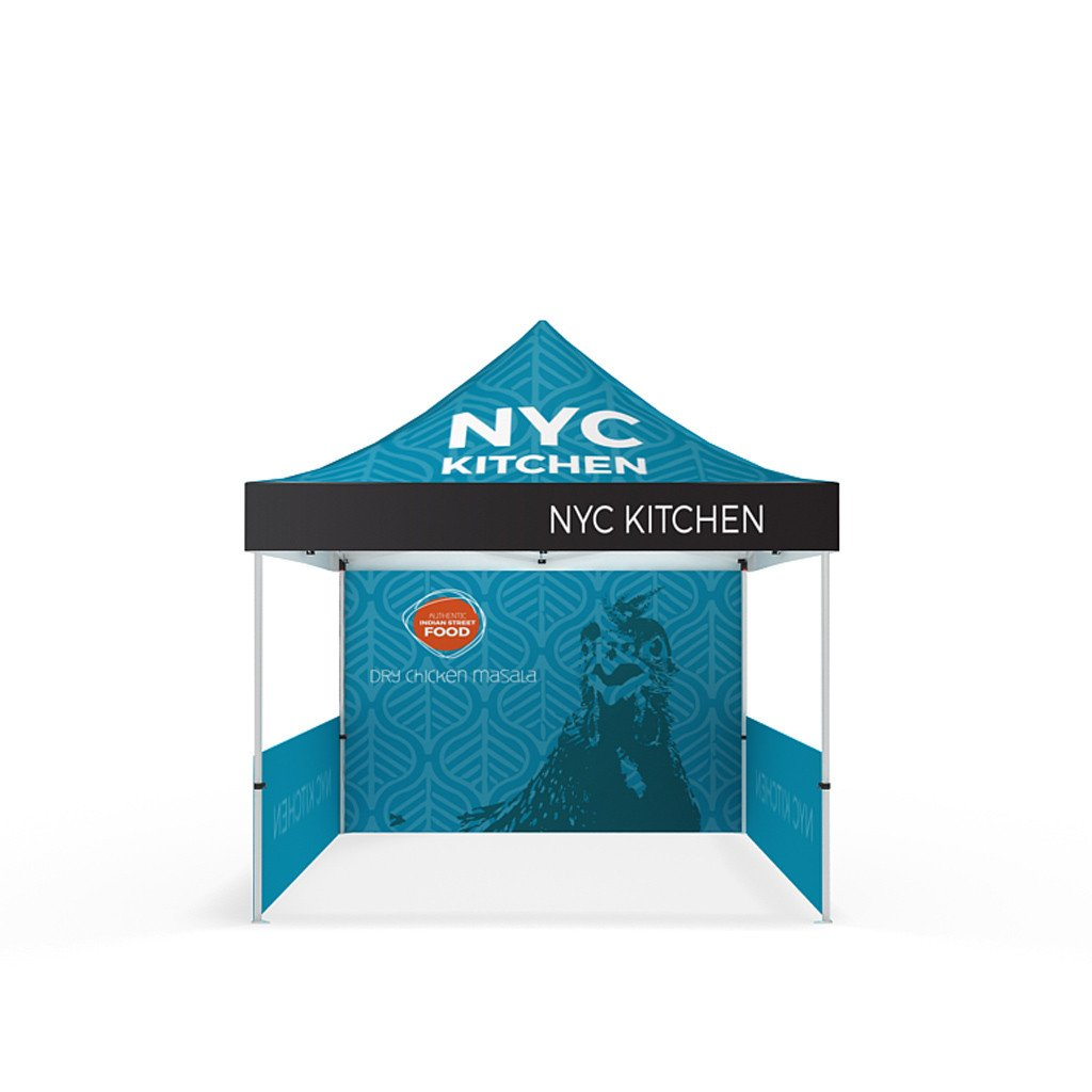 BrandStand® Outdoor Popup Canopy Tent 10ft front view
