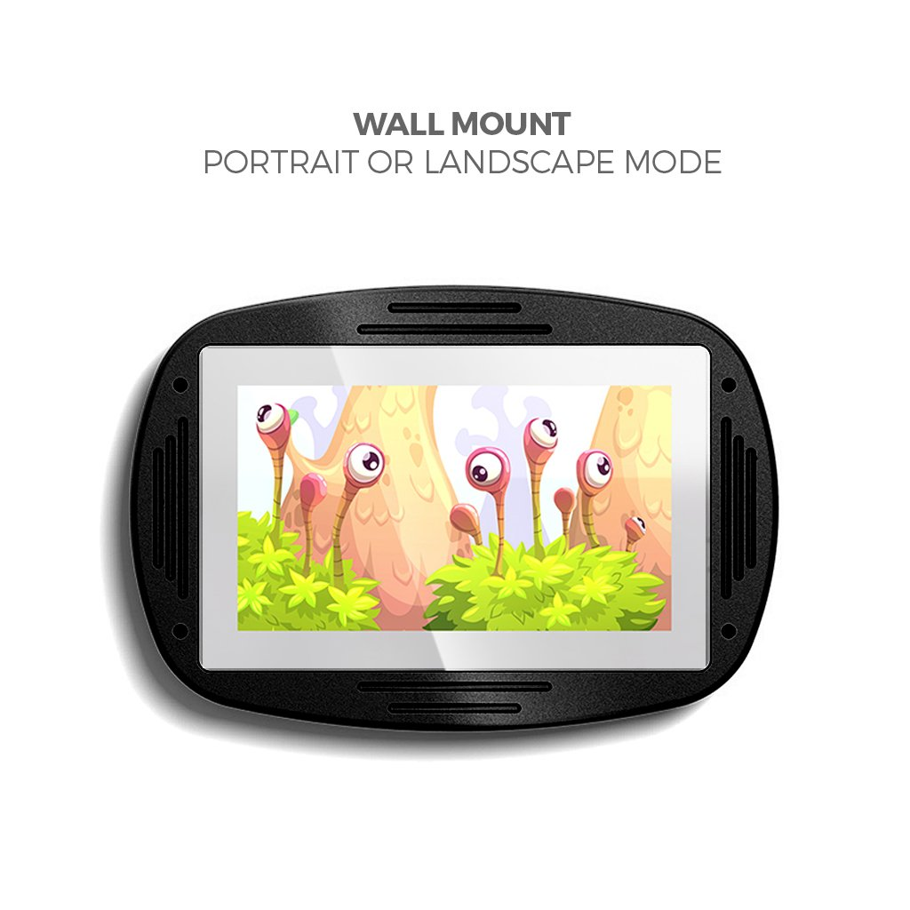 Makitso 4k Interactive Children's Touch Screen Monitor Table Black Wall Mount