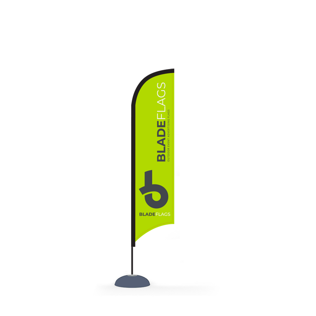 WaveLine 10' Blade for outdoor advertising and event flags