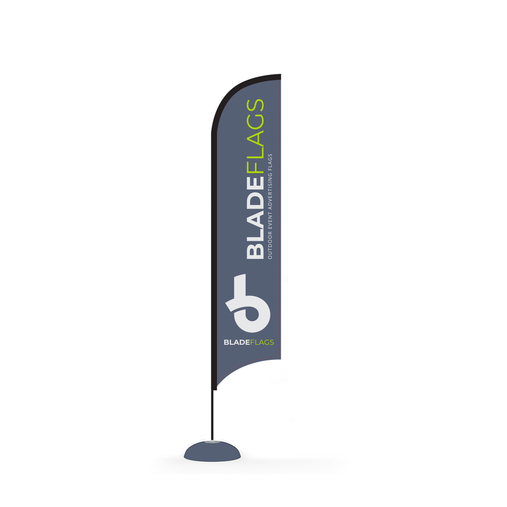 WaveLine 14' Blade Flag for outdoor advertising and event flags