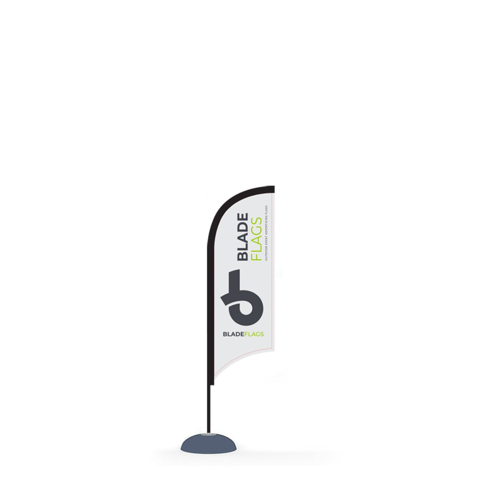 WaveLine 7' Blade outdoor advertising and event flags