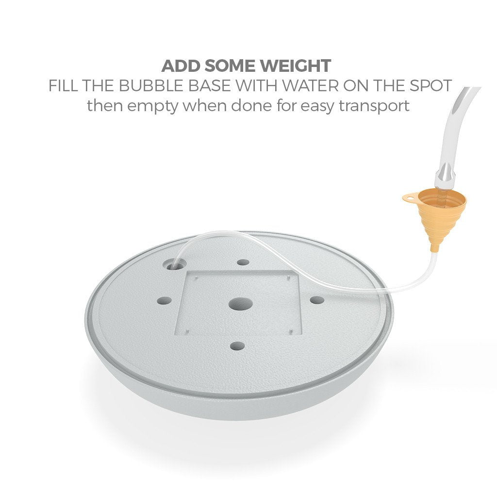 WaveLine Mediaå¨ Bubble Base water-fill
