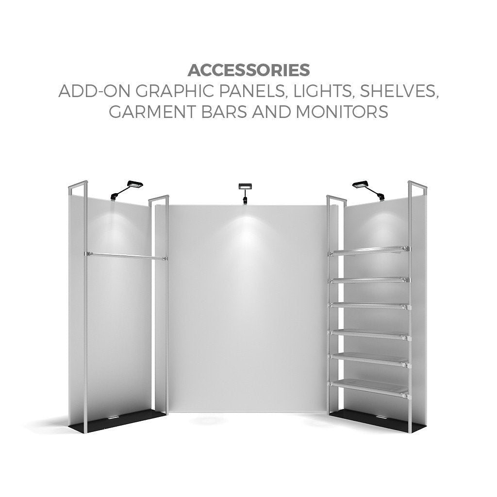 WaveLine® Merchandiser Retail Pop Up Store Display Accessories