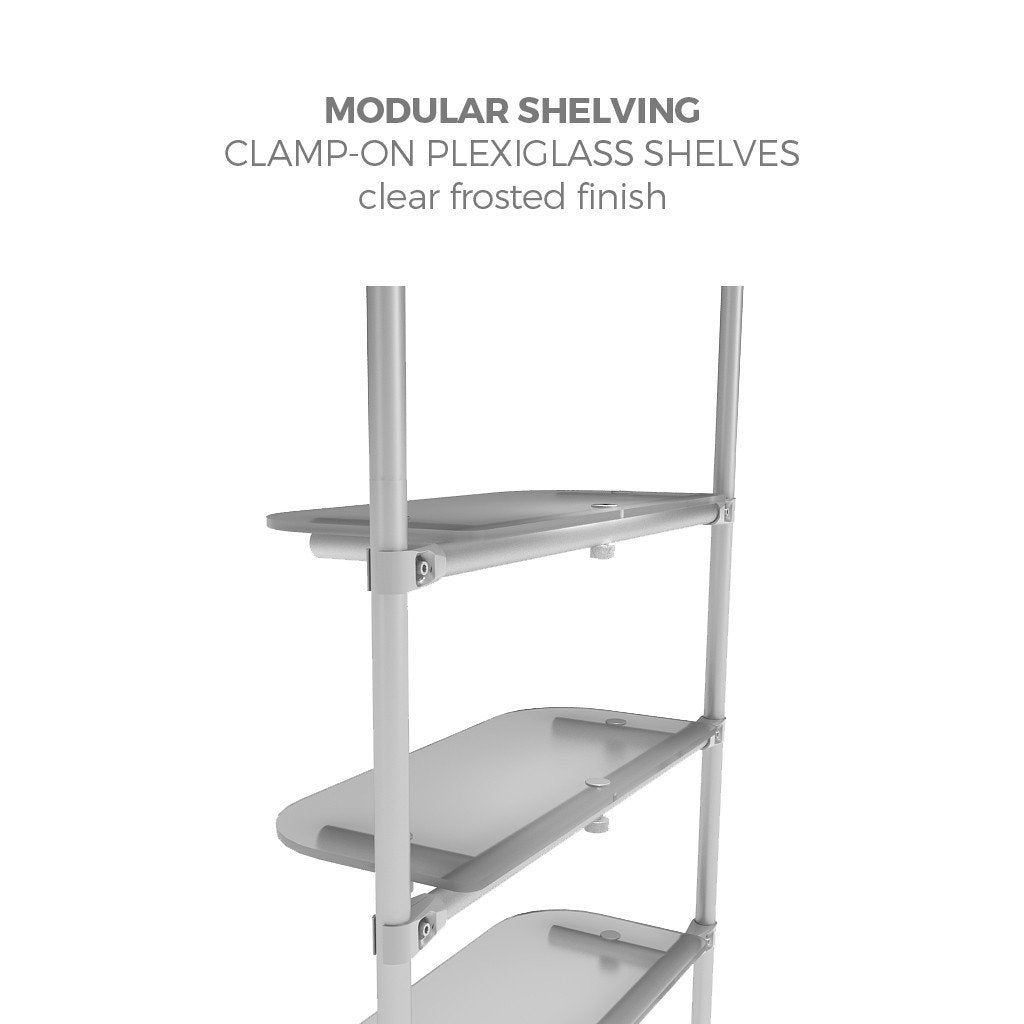WaveLine® Merchandiser Retail Pop Up Store Display shelving