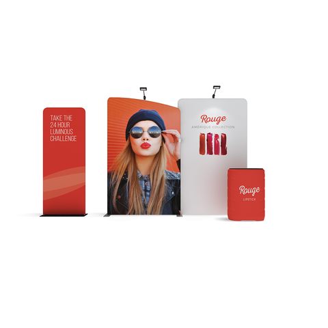 WavelineMedia Kit WLMAK2 with banner stand