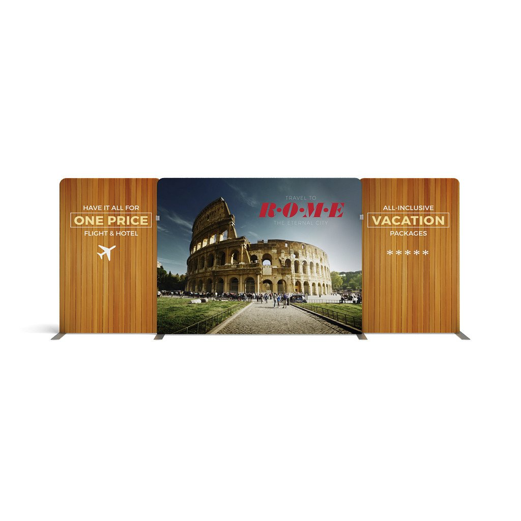 BrandStand WavelineMedia WLMEFE Tension Fabric Display