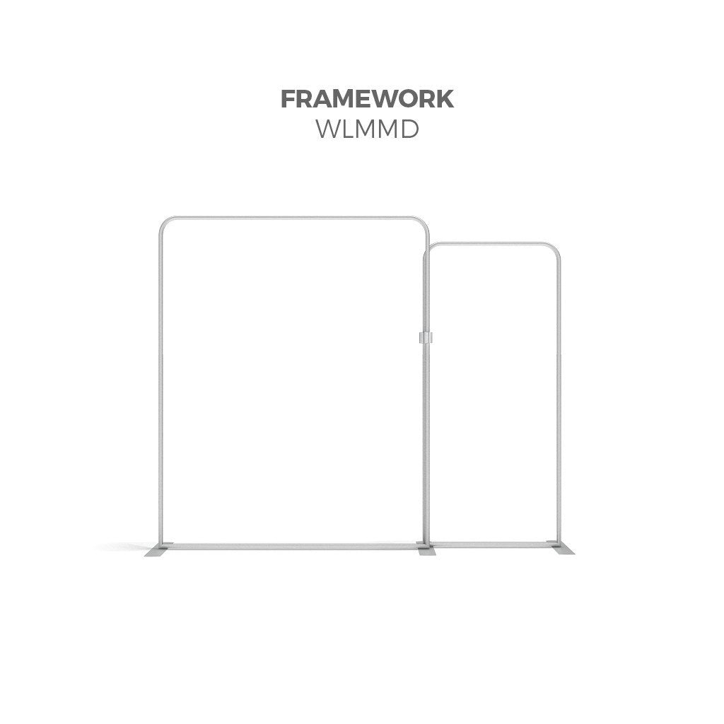 BrandStand WLMMD WavelineMedia Tension Fabric Display Kit framework