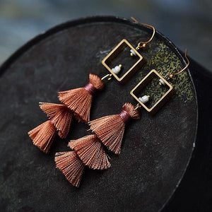Juliette Tassel Earrings - Mandala Jane