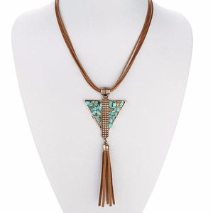 Gaia Tassel Necklace - Mandala Jane