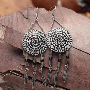 Mandala Dreamcatcher Earrings - Mandala Jane