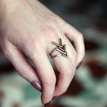 Rustic Arrow Ring - Mandala Jane