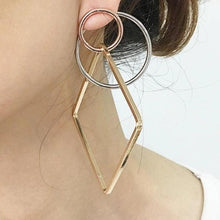 Sacred Geometry Hoop Earrings - Mandala Jane